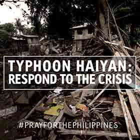 TEAR Fund Typhoon Haiyan Emergency Appeal
